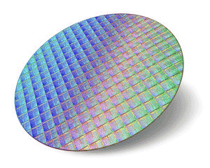 Silicon image wafer