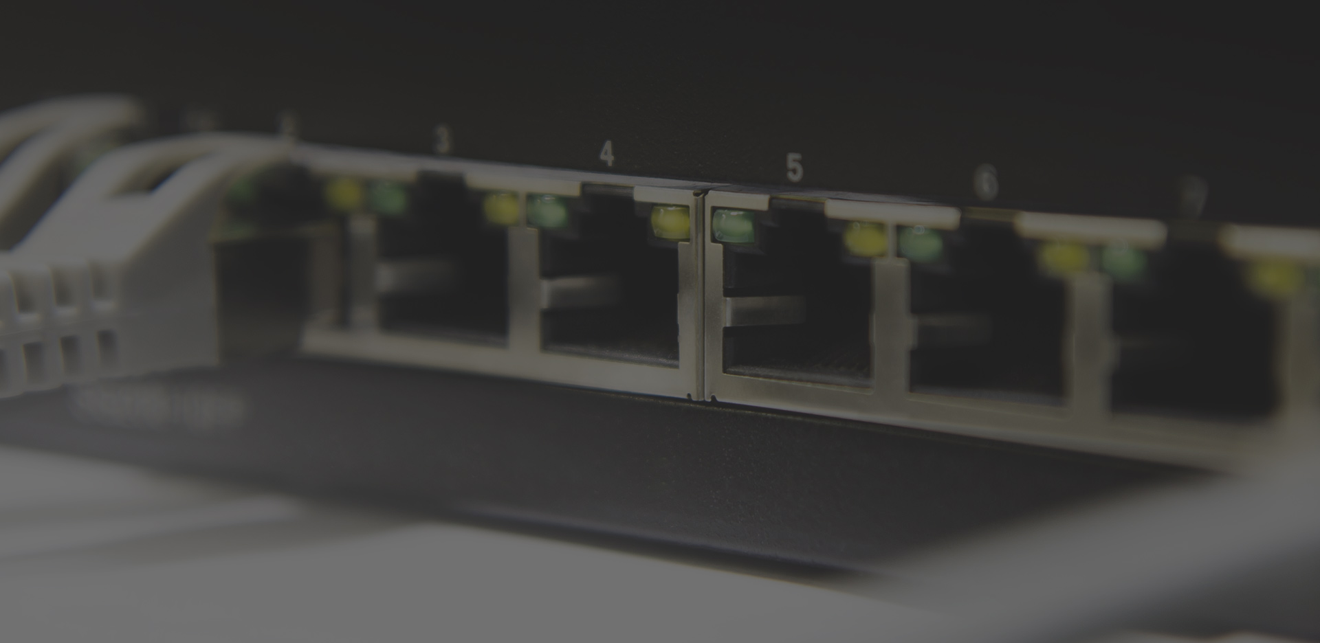 Ethernet switch banner
