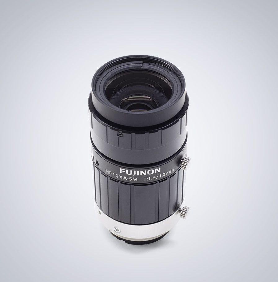 HF12XA-5M Fujifilm 5,0MP C-Mount Objektiv mit einer festen Brennweite von 12mm und einem Blendenumfang von F1.6 - F16.
