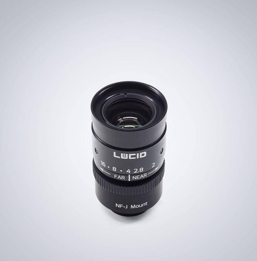 Lucid nf-mount NF120-5M angled Lens