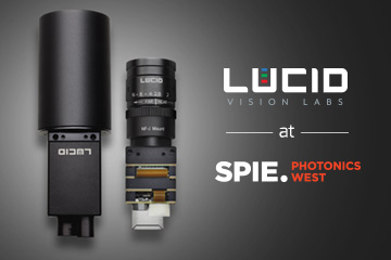 Lucid cameras at Photonics West