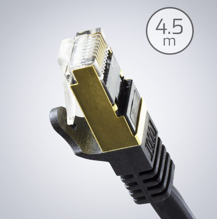 4.5m ethernet cable shielded
