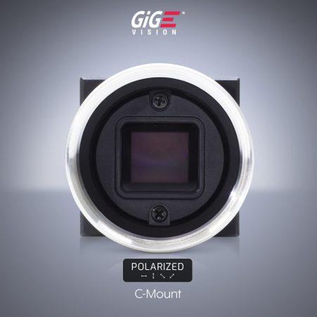 Sony polarized IMX250MZR CMOS on Phoenix C-Mount