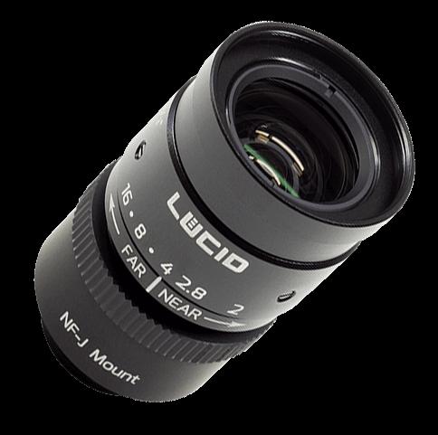 Lucid NF-mount lens