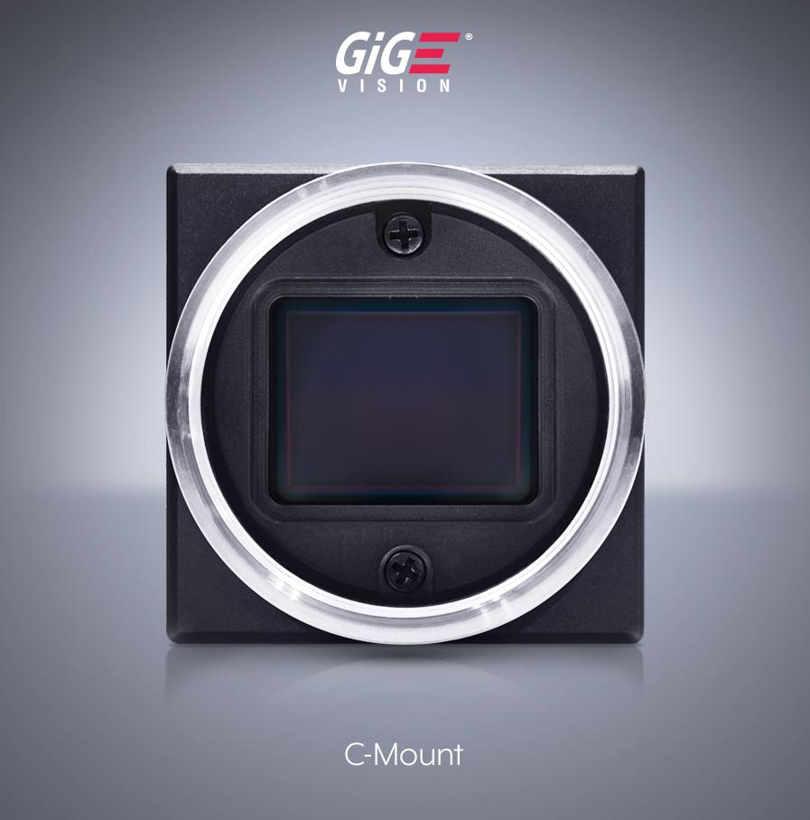 Phoenix 28x28mm C-Mount Machine Vision GigE Camera