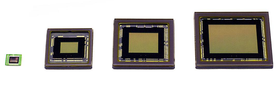 Sensor format size examples