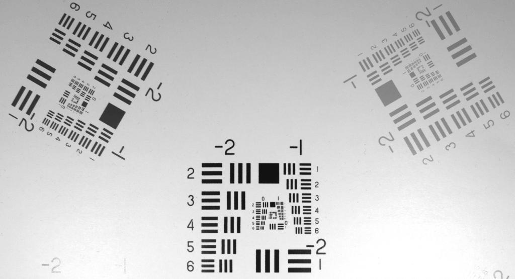 LUCID C-mount lens test