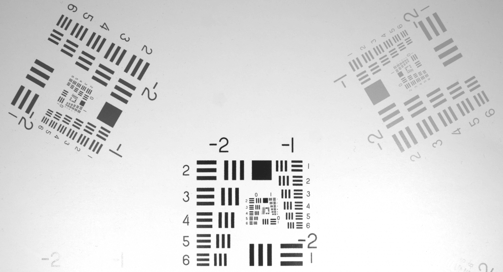 LUCID nf-mount lens NF120-5M test
