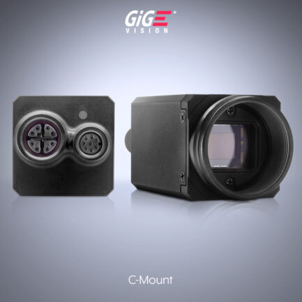 Triton C-mount Machine Vision Camera Back and Side