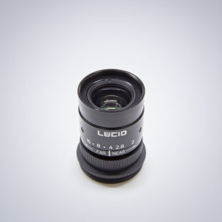 Lucid-NF120-5M-C C-mount 5MP super compact lens