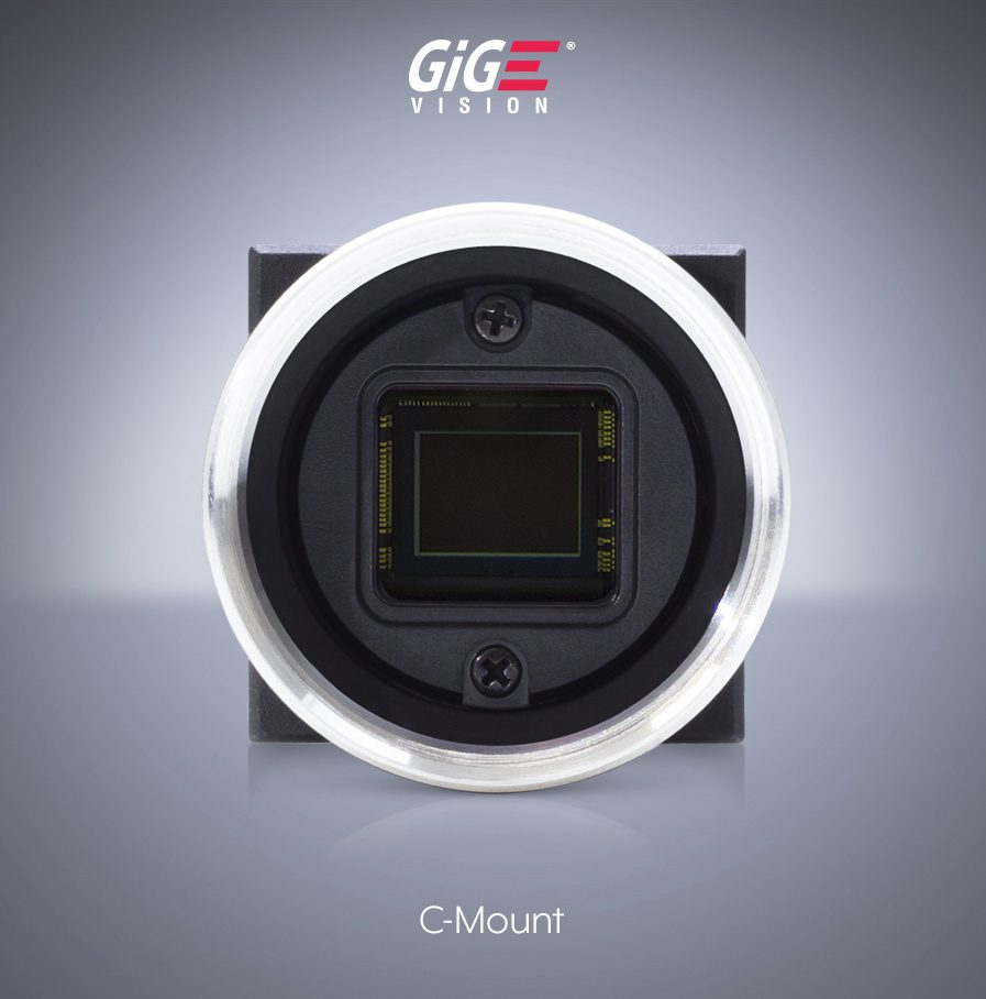 Phoenix 24x24mm C-Mount Machine Vision GigE Camera IMX226