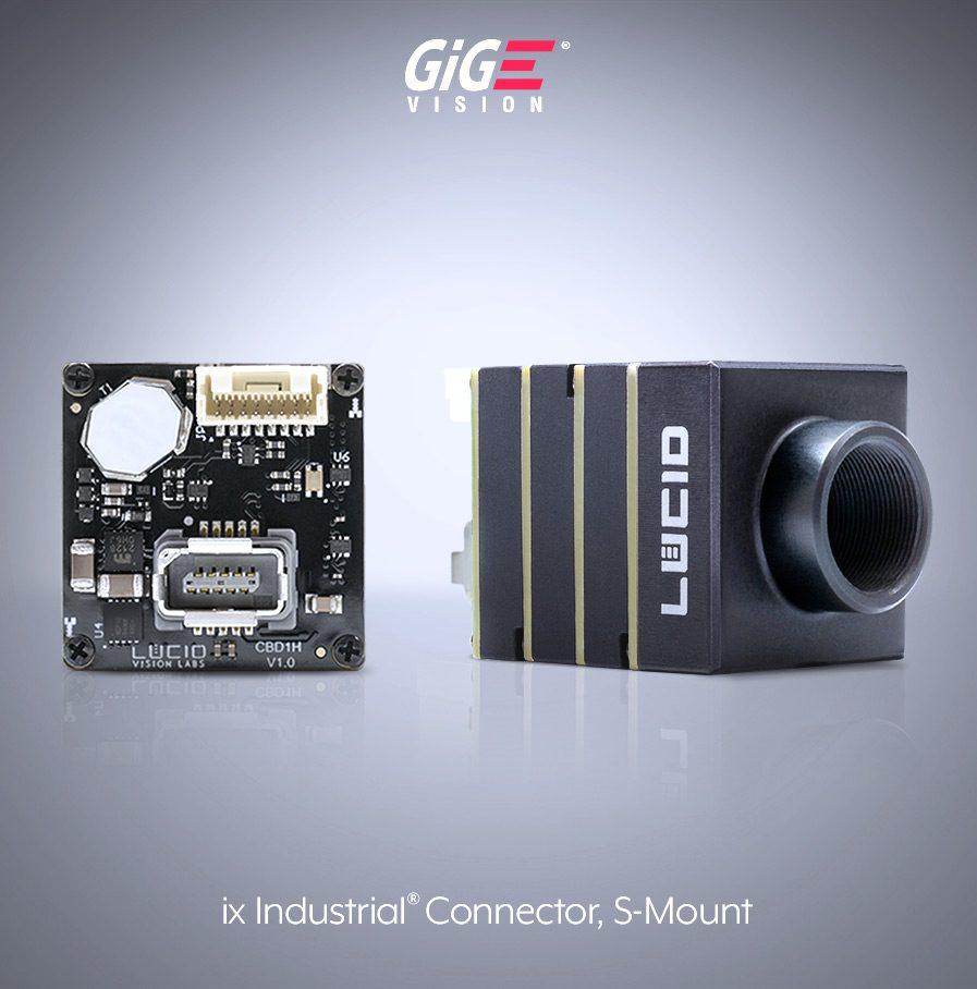 Phoenix Sマウント GigE Vision エリアスキャンカメラ IX インターフェー コネクタ side image