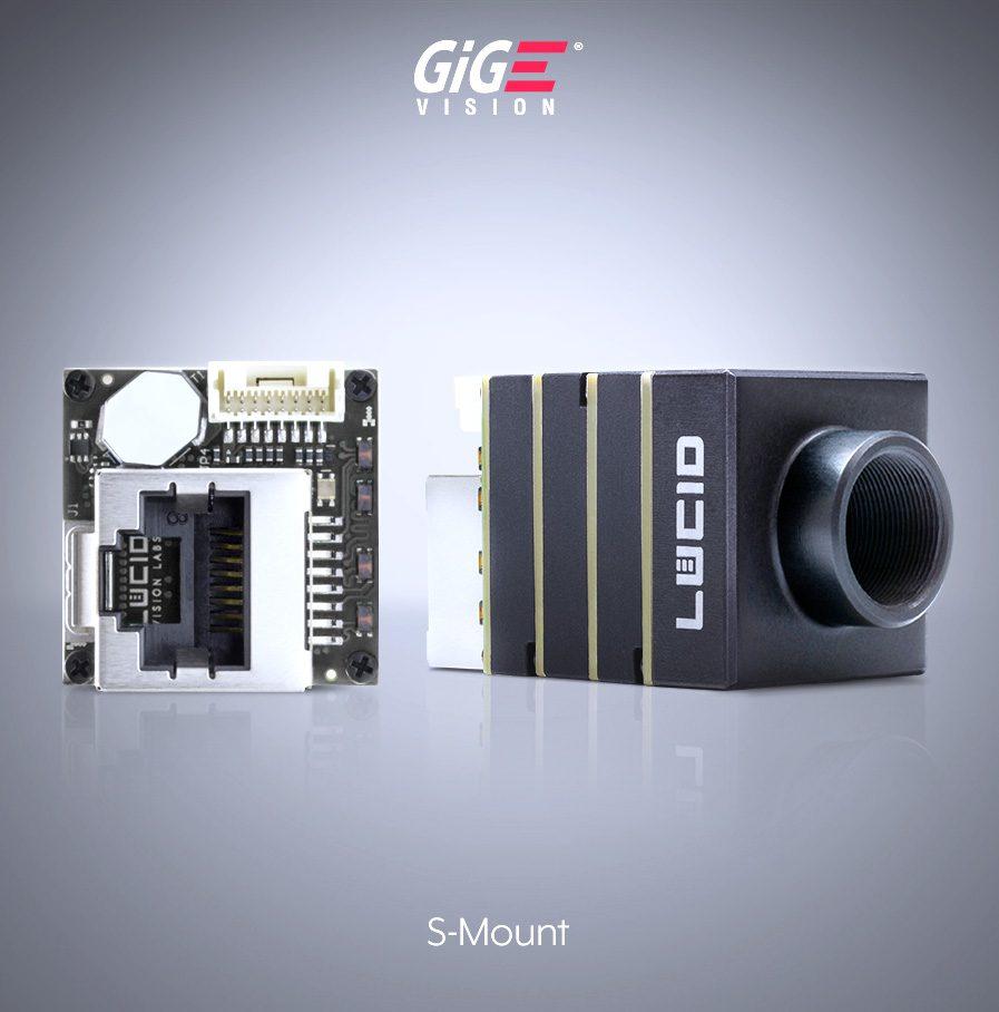Phoenix Sマウント GigE Vision エリアスキャンカメラ