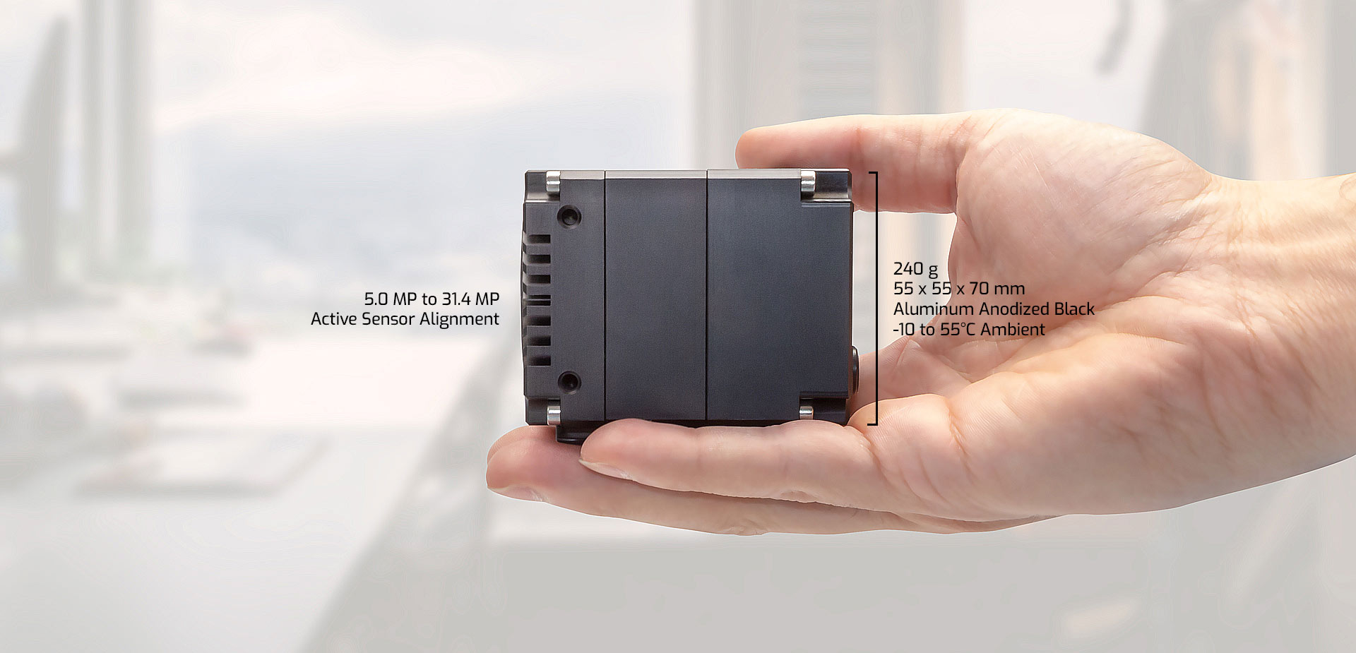 Atlas Camera - Compact Features