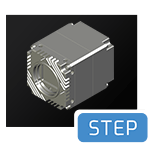 Atlas TFL-mount CAD step file