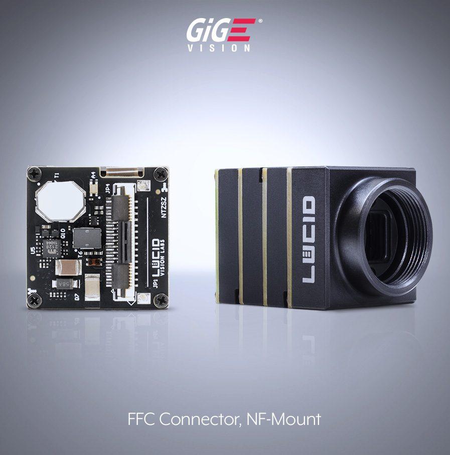 Phoenix NFマウント エリアスキャンカメラ and FFC (ZIF) connector