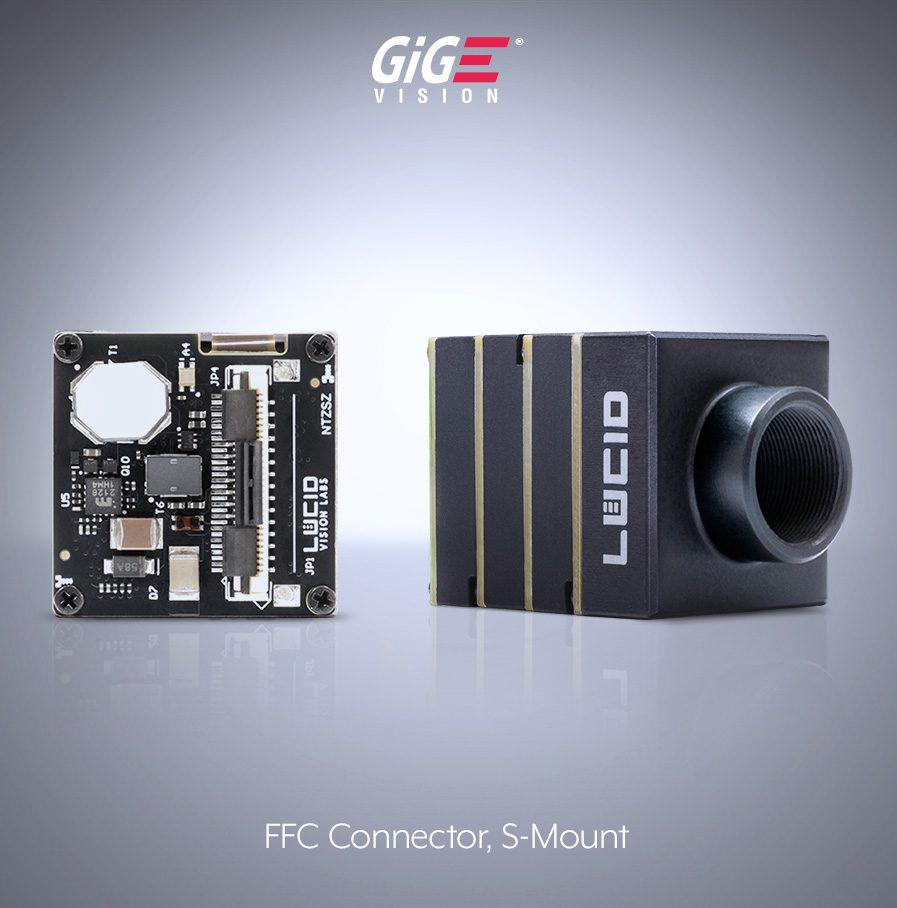 Phoenix Sマウント エリアスキャンカメラ and FFC (ZIF) connector