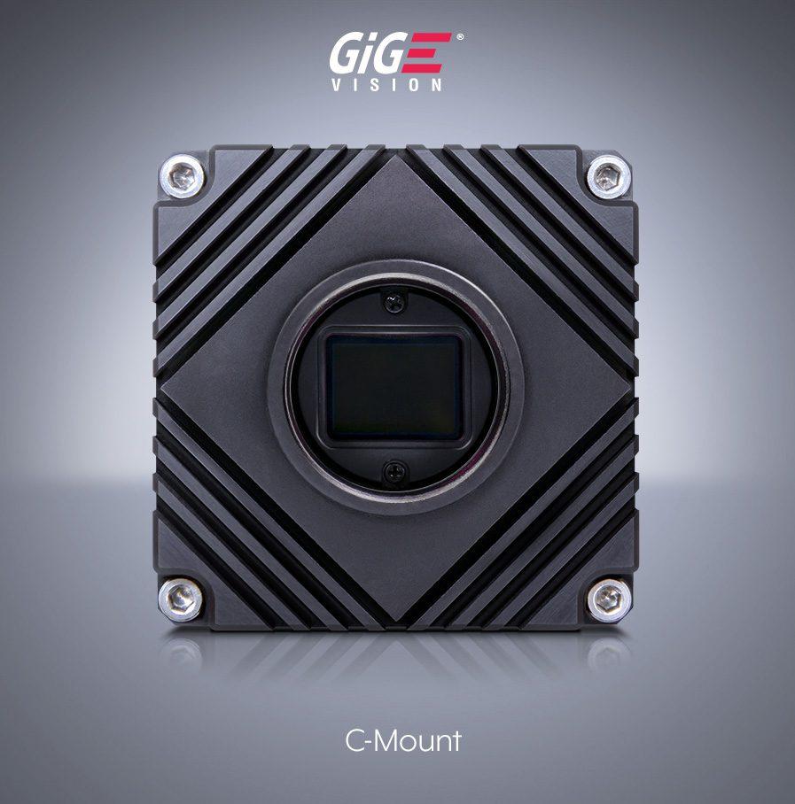 Atlas 万画素 カメラ, 5ギガビットEthernet インタフェース, Cマウント