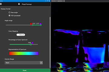 Polarization software Lucid arena sdk
