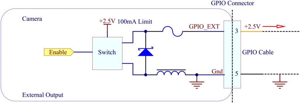 VCC voltage output diagram