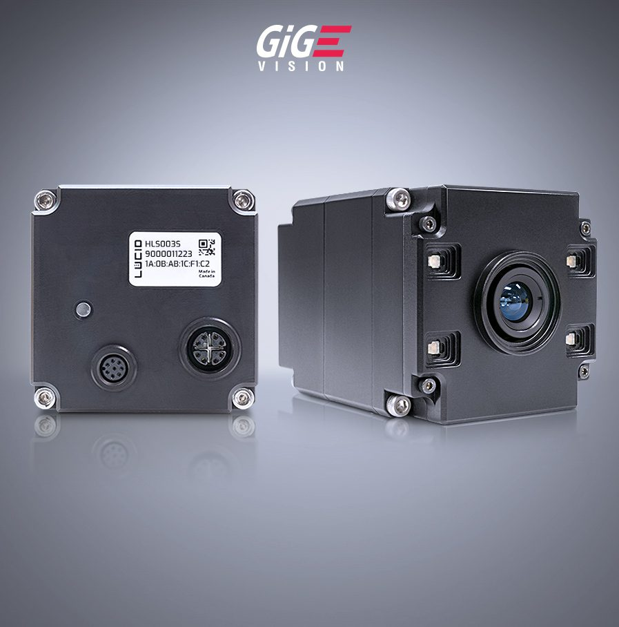 Helios Time of Flight tof 3Dカメラ, ソニー社製距離画像センサーDepthSense™ IMX556PLR搭載