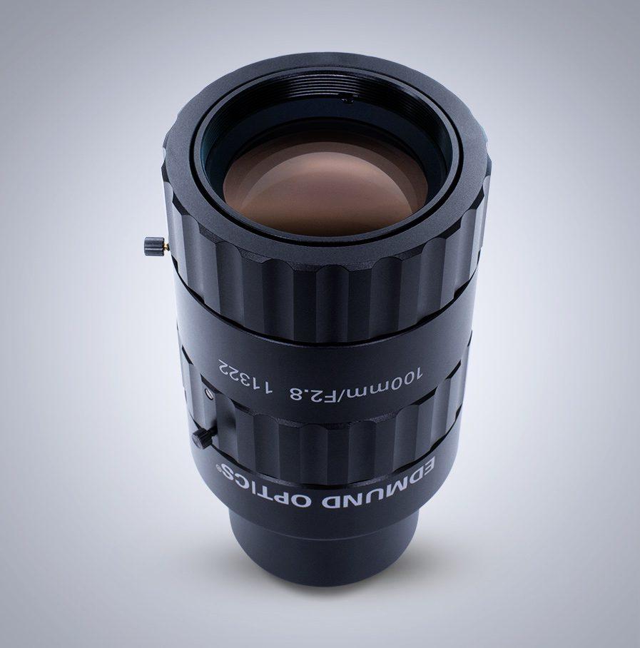 Objektiv mit Festbrennweite der CA-Serie, 100 mm
