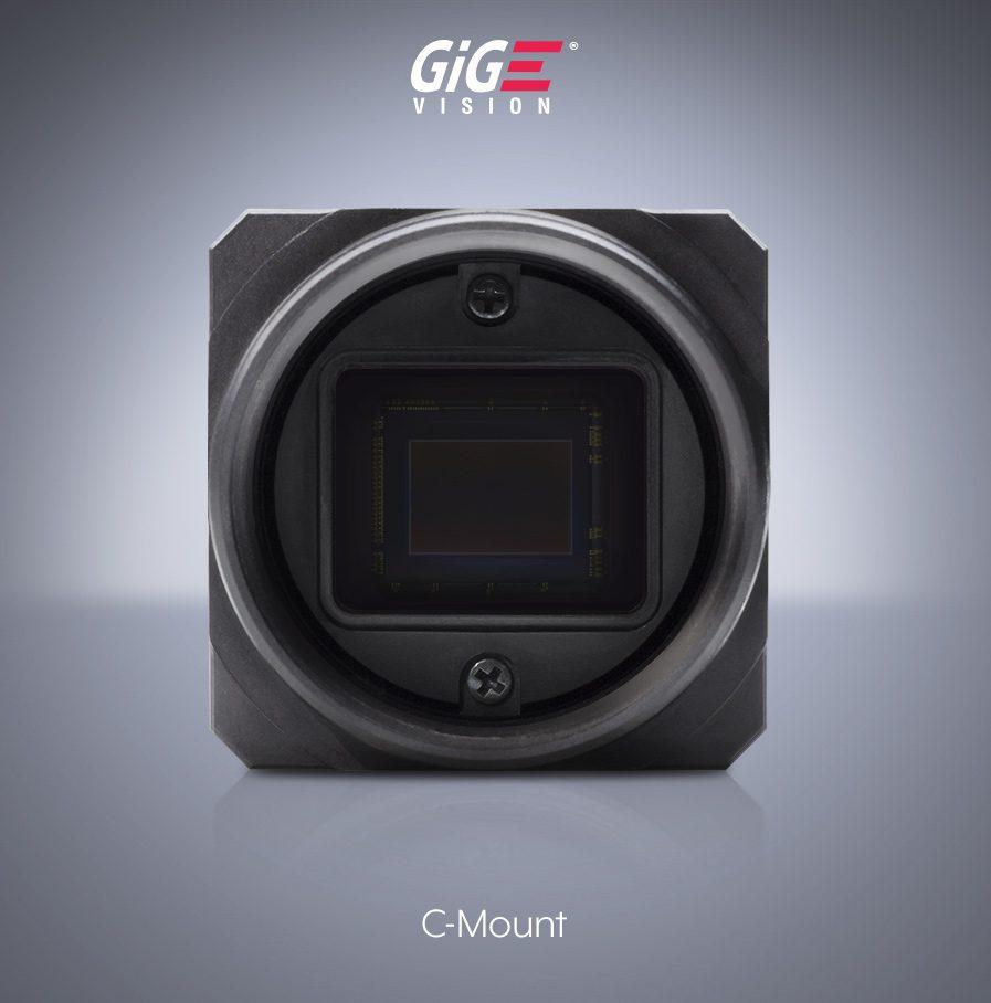 Triton エリアスキャンカメラ 6.4MP Cマウント, IMX178 GigE