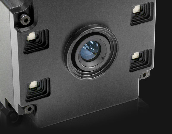 Helios time of flight camera front