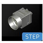 Phoenix-c-mount-24x24-FFC-cad-step