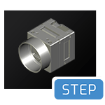 Phoenix-c-mount-28x28-FFC-cad-step