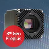 3rd Gen Pregius on Atlas 5GigE camera