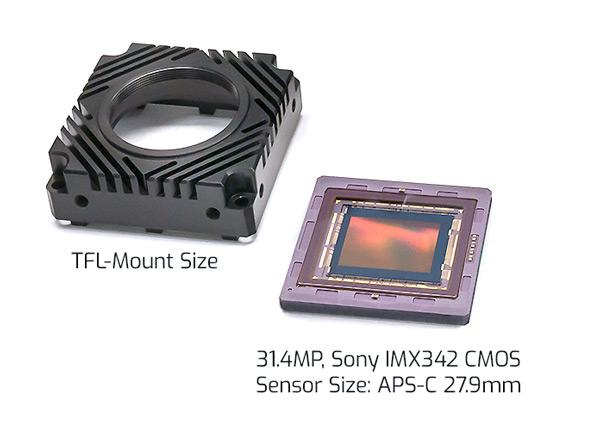 TFL-Mount and IMX342-CMOS