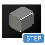 Atlas No Lens Mount STEP File