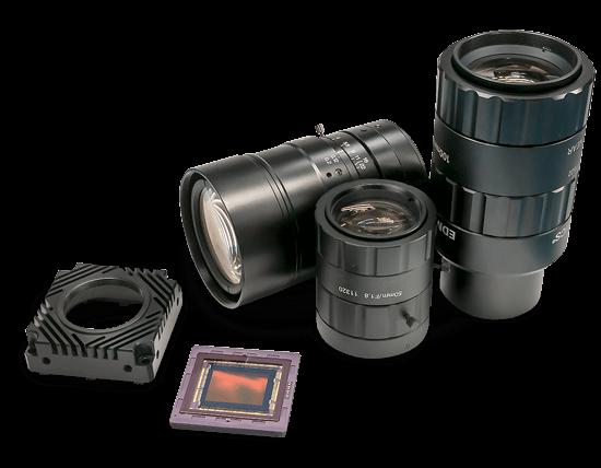 TFL lens mount for machine vision cameras