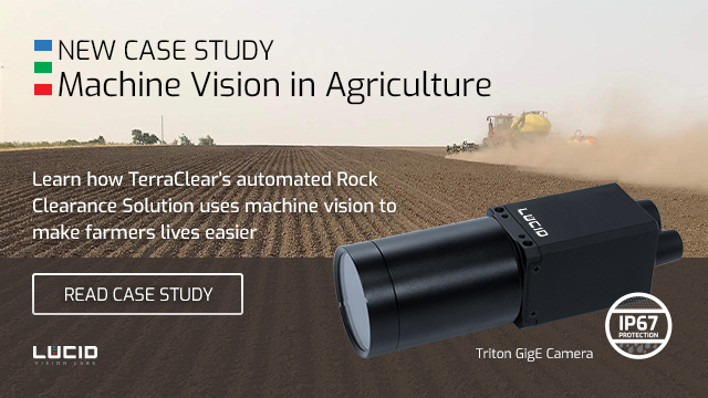 Triton camera and terraclear rock-picker robot case study