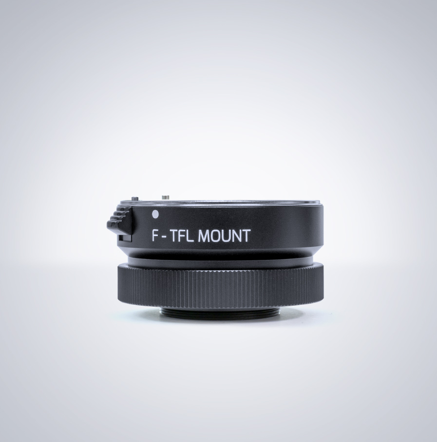 TFL-Mount auf F-Mount Objektiv (mit einstellbarem BFD) Adapter