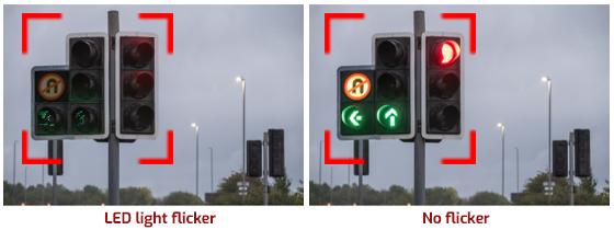 IMX490 LED flicker mitigation