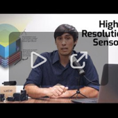 Machine vision cameras with High Resolution sensors
