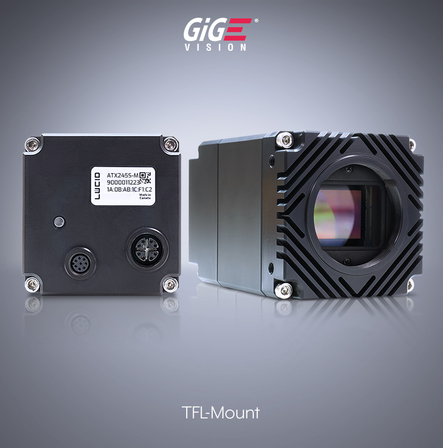 Atlas10 10GigE Camera with PoE+ 10GBASE-T