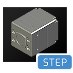 Helios2 CAD step file