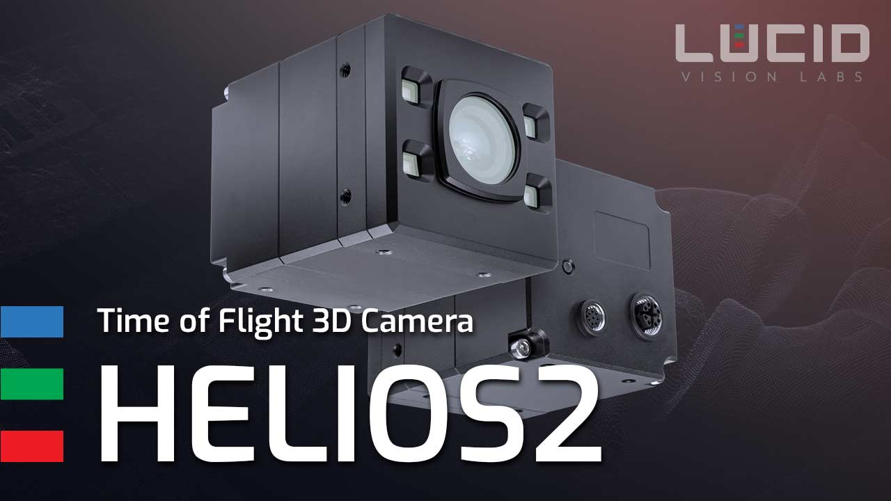 Helios2 3D Time of Flight product video Thumbnail