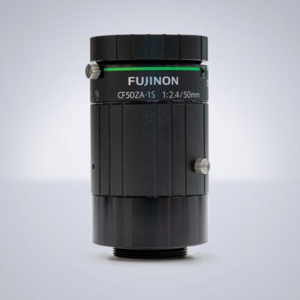 CF50ZA-1S Fujifilm C-Mount Objektiv mit einer festen Brennweite von 50 mm und einem Blendenumfang von F2.4 - F16