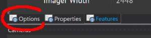 options bottom tab
