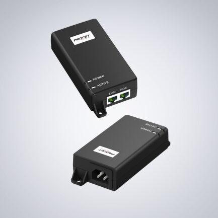 Procet 10GbE 60W PoE++ Injektor (802.3af/at, NA/EU)