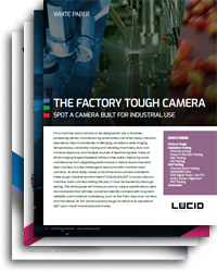 White paper on what makes a camera industrial