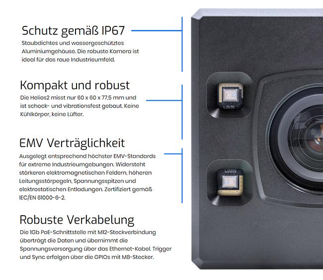 Helios2 3D ToF Kamera