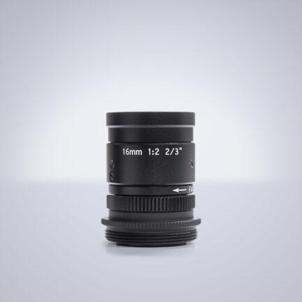 Universe 16mm compact c-mount lens
