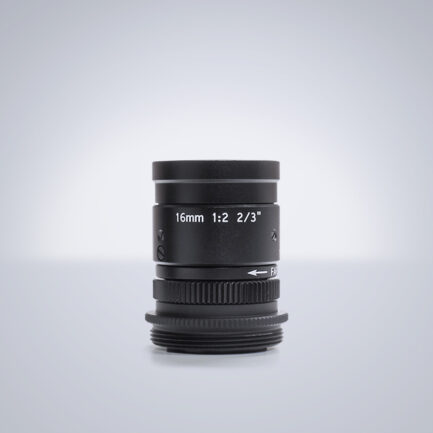 16 mm C-Mount Objektiv Universe BL160 - f2,0
