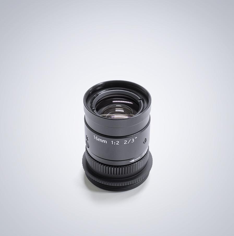 """Universe Cマウント 5MP 2/3"""" 16mm f/1.8 レンズ"""