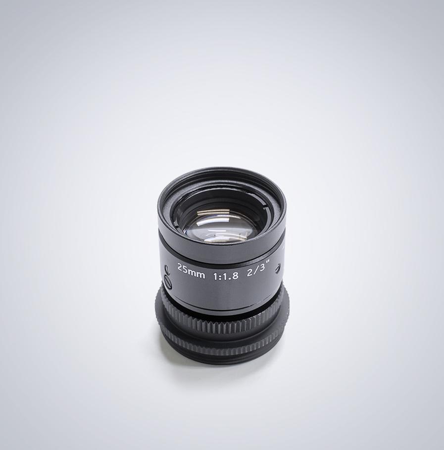 Universe 25mm compact c-mount lens